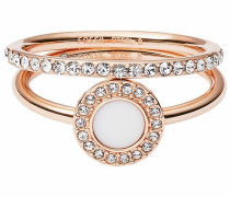 Ring-Set 'classics' rosegold