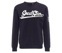Pullover marine / weiß