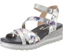 Sandalette mischfarben / grau