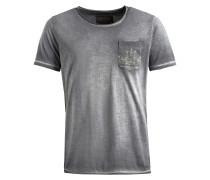 Shirt 'tiago' grau / dunkelgrau