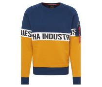 Sweatshirts navy / braun
