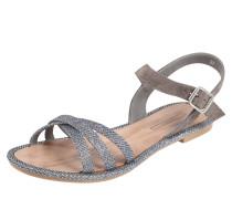 Sandale 'Nazli' dunkelgrau