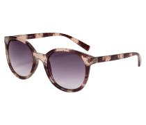 Sonnenbrille mit Gestell in Horn-Optik