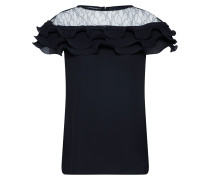 Bluse 'GO Lace Insert Pleated Shell TOP p152'