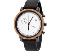 Uhr 'Franz Oak Watwfra0111' schwarz