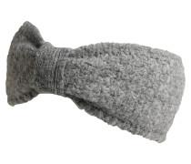 Stirnband mit Fleece-Futter grau