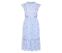 Kleid 'floral Midi Dress With Shirring'