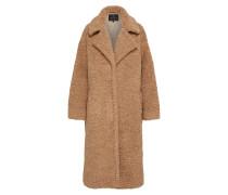 Mantel 'Tabby Fake Fur' camel