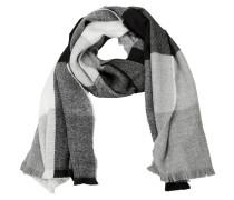 Schal graumeliert / schwarz / weiß