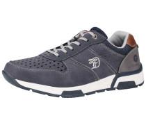 Sneaker taubenblau / braun / weiß