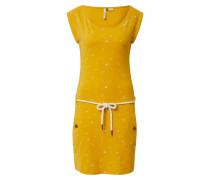 Kleid 'tag A Organic' gelb