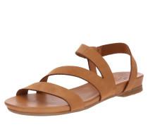 Sandale 'Dena' cognac