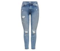 ONLBlush Mid Ankle Destroy Skinny Fit Jeans
