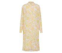 Kleid 'Rissy' gelb / weiß
