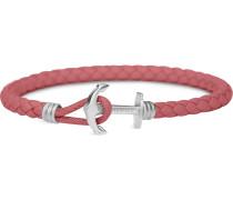 Armband himbeer / silber