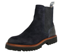 Chelsea Boots 'Flat' navy