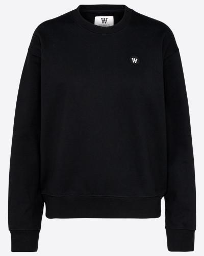 Sweatshirt 'Jess' schwarz