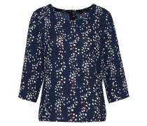 Bluse 'onlDITTE Gira' nachtblau