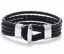 Armband 'Black silver 1288'