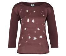 Shirt 'stars' burgunder