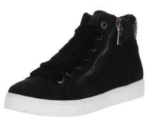 Sneaker High mit breiten Schnürsenkeln