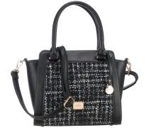Handtasche 'Bristol' schwarz / weiß