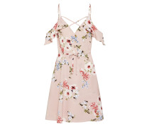 Kleid 'floral Strappy Wrap Dress'