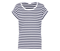 T-Shirt 'Dreamers' nachtblau / weiß