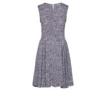 Kleid taubenblau