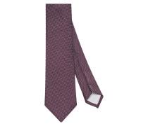 Krawatte ' Custom Fit ' bordeaux