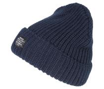 Mütze 'chunky Knit' navy