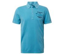 Shirt navy / aqua