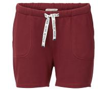 Shorts dunkelrot