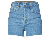 Shorts 'ribcage' blue denim
