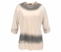 Oversize-Shirt champagner / graphit