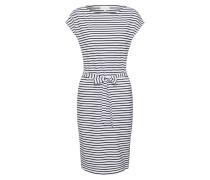 Kleid 'Alada' schwarz / weiß