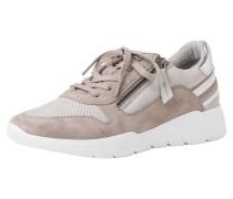 Sneaker grau / weiß / taupe