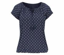 Shirt navy / schwarz