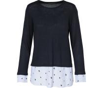 Pullover 'acacia' nachtblau / hellblau