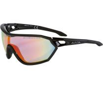 's-Way Qvm+' Sportbrille schwarz