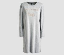 Nachthemd gold / graumeliert