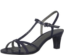 Sanale 'Medium Absatz Sandal' navy