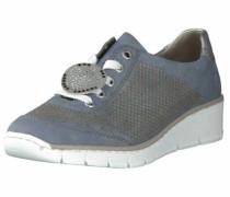 Schnürschuhe taubenblau / grau