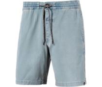 'flare' Shorts hellblau