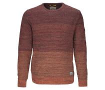 Pullover rostbraun / bordeaux