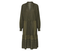 Kleid 'onlsoul l/s Midi Dress Wvn'