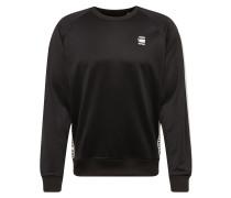 Sweatshirt 'Satur-s' schwarz