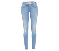 Jeans 'coral' blue denim
