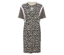 Kleid beige / anthrazit