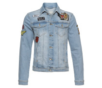 Jeansjacke 'jacket Light' blue denim